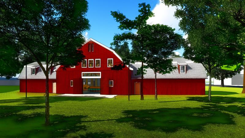 ​Red Barn Activates Mitchell Master Plan