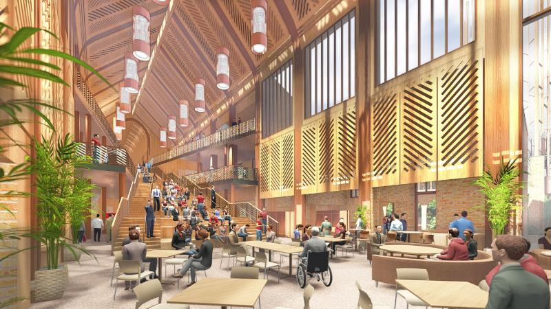 Centerbrook Wins The University of the South Architectural Competition